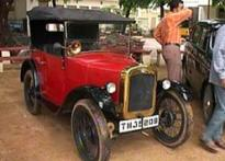 Chennai in top gear with vintage car rally