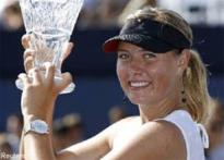 Sharapova warms up for US Open with Acura win