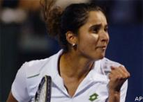 Sania Mirza moves into the third round