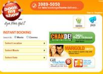 <b>TV18 launches movie ticket site BookMyShow.com</b>