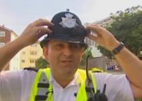 Watch out! Brit cops install cameras in helmets