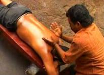 Want a relaxing massage? Go to Courtallam
