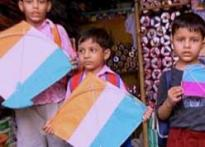 Kite flying, truly an I-Day ritual