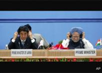 Japan PM's India trip high on warmth, low on steam
