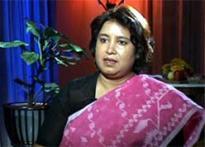 MLA vows to 'behead' Taslima Nasreen