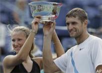 Mirnyi-Azarenka win US Open mixed doubles