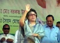 Bangladesh forces arrest ex-PM Zia, son