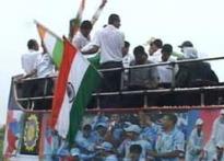 Mumbai gives T20 heroes a vigorous welcome