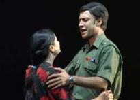 Play on war heroes' wives wins hearts