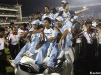 Spinners again made the day for India