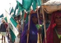 25,000 Dalits march towards Delhi, demand land rights