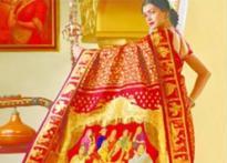 Chennai weaves world's costliest sari at Rs 40 lakh