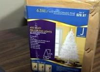 Now, Made in China Xmas tree contains lead warning