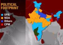 Saffron cover spreads over India's political map