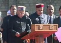 Dhumal takes oath as Himachal Chief Minister