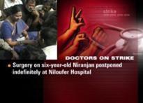 Hyd medicos resume work except Niloufer hospital