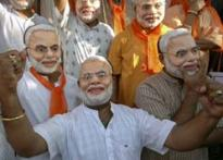 Modi juggernaut crushes BJP rebels, Congress