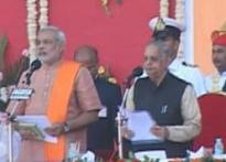 BJP unites to cheer as Modi takes charge