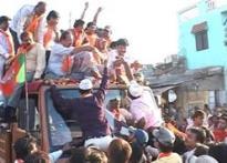 Surat funds BJP campaign, celebrates returns