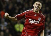 Gerrard lifts Liverpool with FA Cup hat-trick