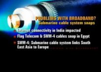 Undersea cables snap in Egypt, Internet slows down