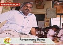 Ex-IITian CJ Rangaswamy serves village as sarpanch