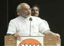 Sena left out of mega Modi felicitation in Mumbai