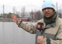 Cold wave grips Kashmir, freezes roads, lakes