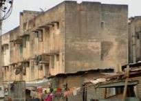 Bangalore's poor forced to live in tin sheds