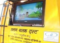 Now mobile school for kids who can't afford education