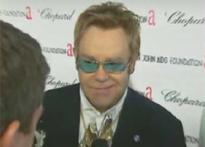 What makes Sir Elton John drop his pants?