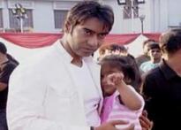 e-stop: Ajay, Kajol all about <i>U Me Aur Hum</i>
