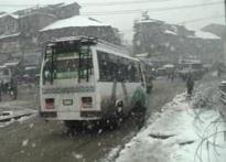 Snowfall in Kashmir gets life to a standstill