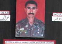 Martyred terrorist-turned jawan gets bravery award