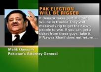 Mush aide talks of rigging polls, caught on tape