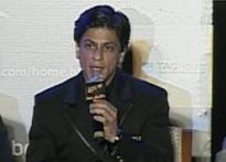 SRK says 'thanks' to Aamir's No. 2 remark | <a href=
