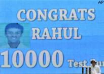 Dravid third Indian in 10,000 Test runs club