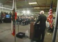 Jumping teleprompters make politicians eat words