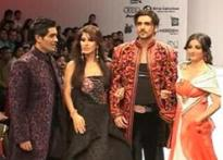 Manav Gangwani's show one starry affair