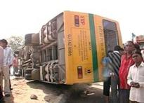 School bus overturns in Gujarat, 1 student dead