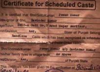 CNN-IBN exposé: Procuring fake caste certificates easy