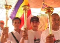 Tibetan protests do not put off Olympic flame