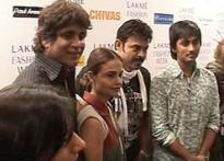 Nagarjuna, Venkatesh at Lakmé Fashion Week