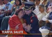 PM's wife moved to tears at gallantry awards function