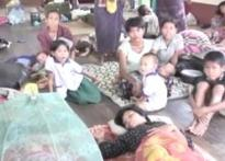 Myanmar leader makes first visit to relief camp