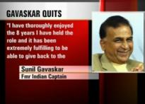 Gavaskar bats for Tests in his last innings for ICC