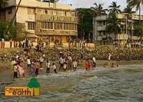 Mumbai slowly sinks with rising sea levels