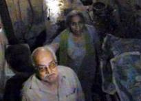MCD officials seal elderly couple inside house