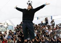 At Cannes, Maradona kickstarts his reel innings
