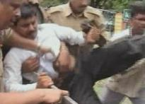 AP minister's men, cops beat up farmer for dissent